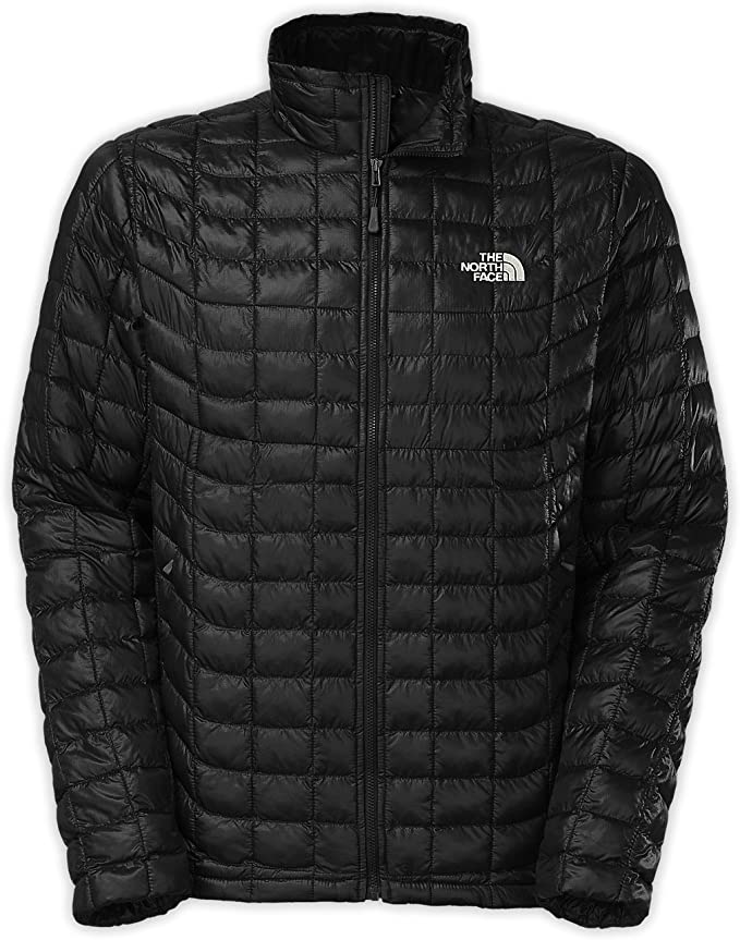 The North Face Mens Full Zip Thermoball Jacket Shady Blue Size Large