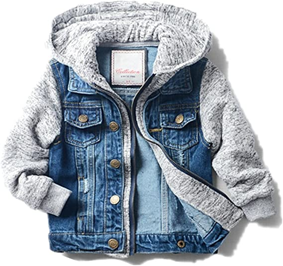 STYLISH BOYS DENIM JACKETS EX CHAINSTORE FASHION AND VERSATILE