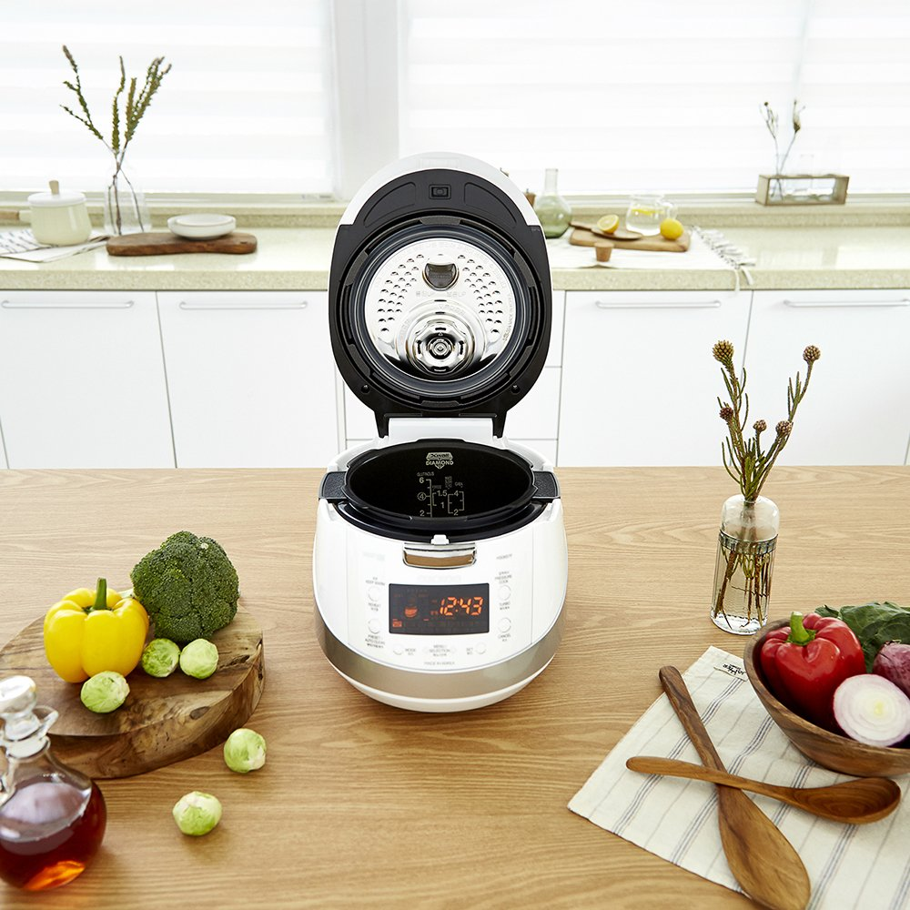 Cuckoo Electric Induction Heating Pressure Rice Cooker CRP-HS0657F (White) by Cuckoo (Image #4)