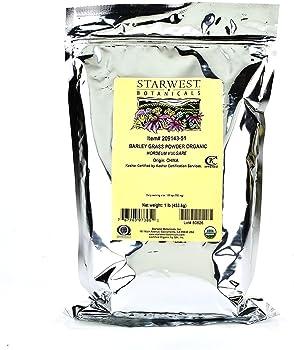Starwest Botanicals Organic Barley Grass Powder