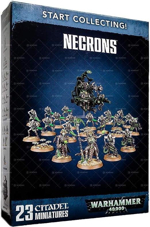Warhammer 40,000 Français Cartes Techniques Necrons 2018 V8