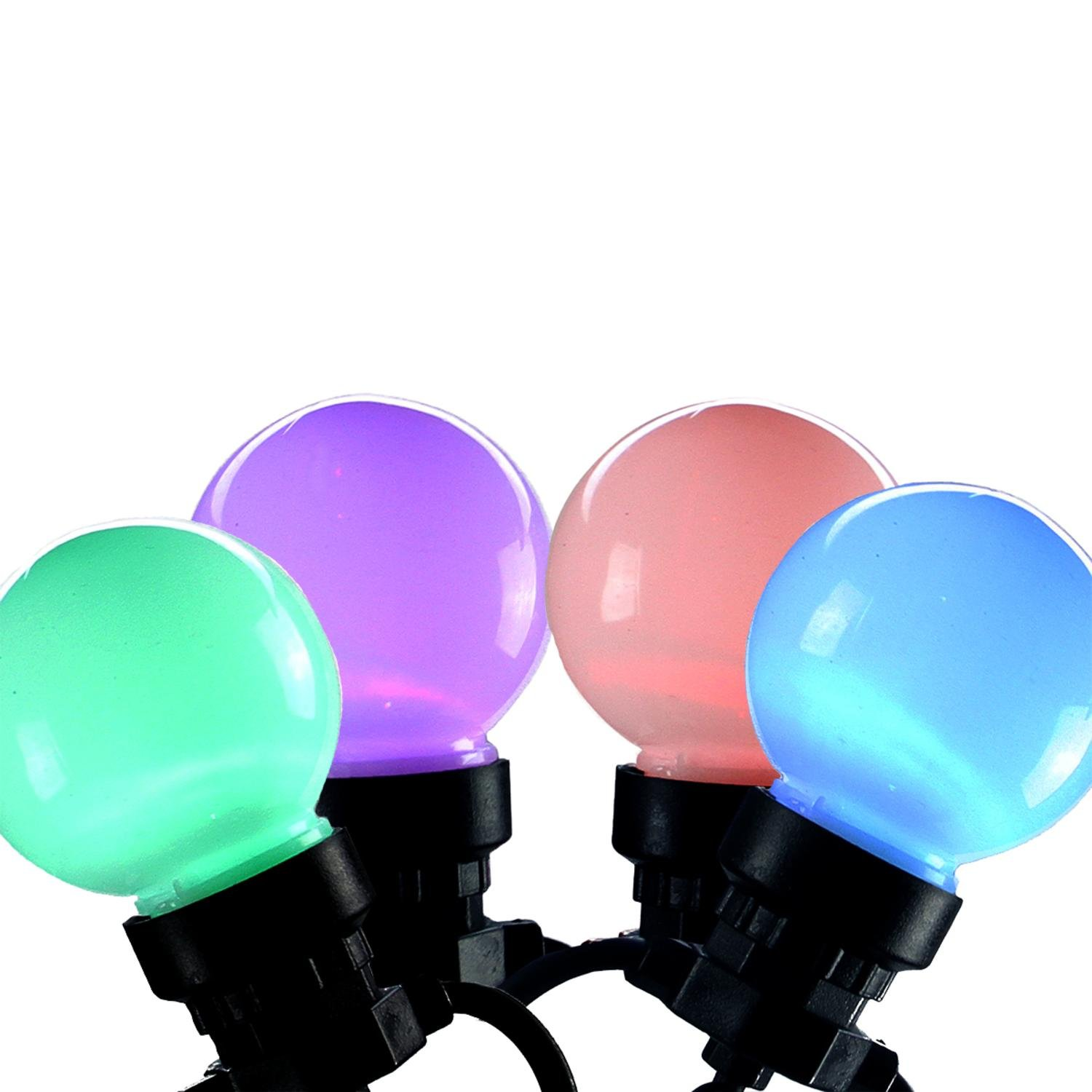 Amazon.com: By Kaemingk Set of 20 LED Multi-Color Color Changing G45 ...