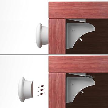 KIDUKU® 4er Set Magnetschloss MagicLock - die unsichtbare ...