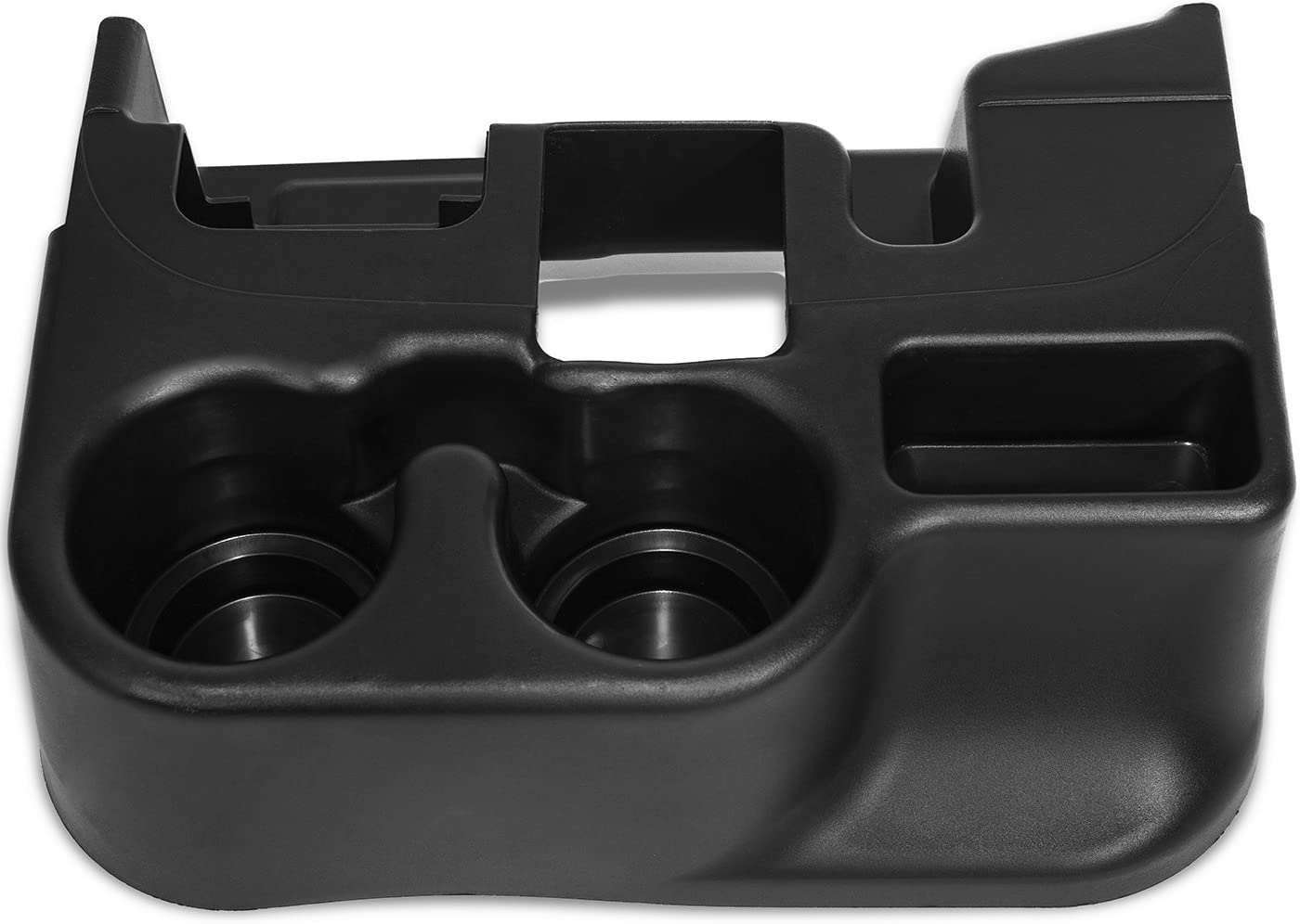 OxGord Center Console Cup Holder Attachment for 2003-2012 Dodge Ram 1500 2500 3500 Vehicles - Black