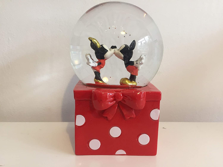 Disney Mickey y Minnie Mouse Bola de Nieve: Amazon.es: Hogar