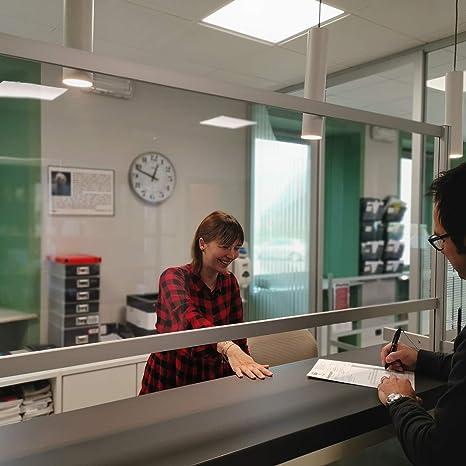 PARETE DIVISORIA IN FOREX BIANCO PER UFFICIO STUDIO NEGOZIO RECEPTION WHL800//B