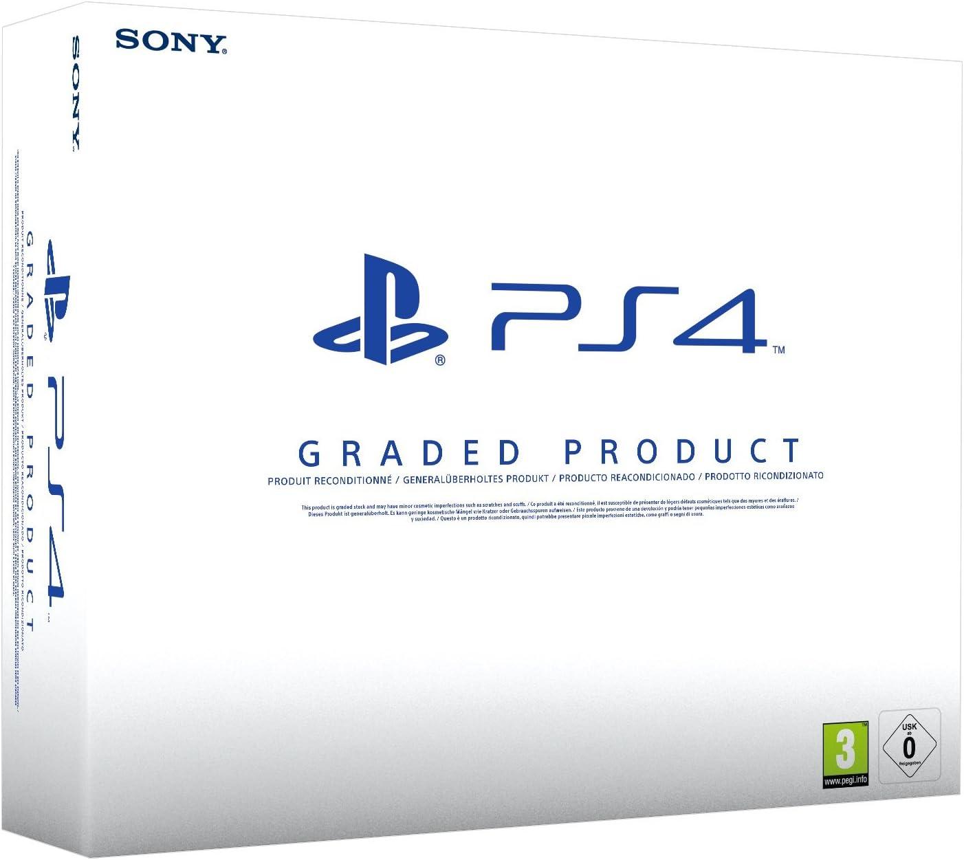 PlayStation 4 (PS4) 500 GB Consola - (Reacondicionado Certificado) - Chasis A: Amazon.es: Videojuegos