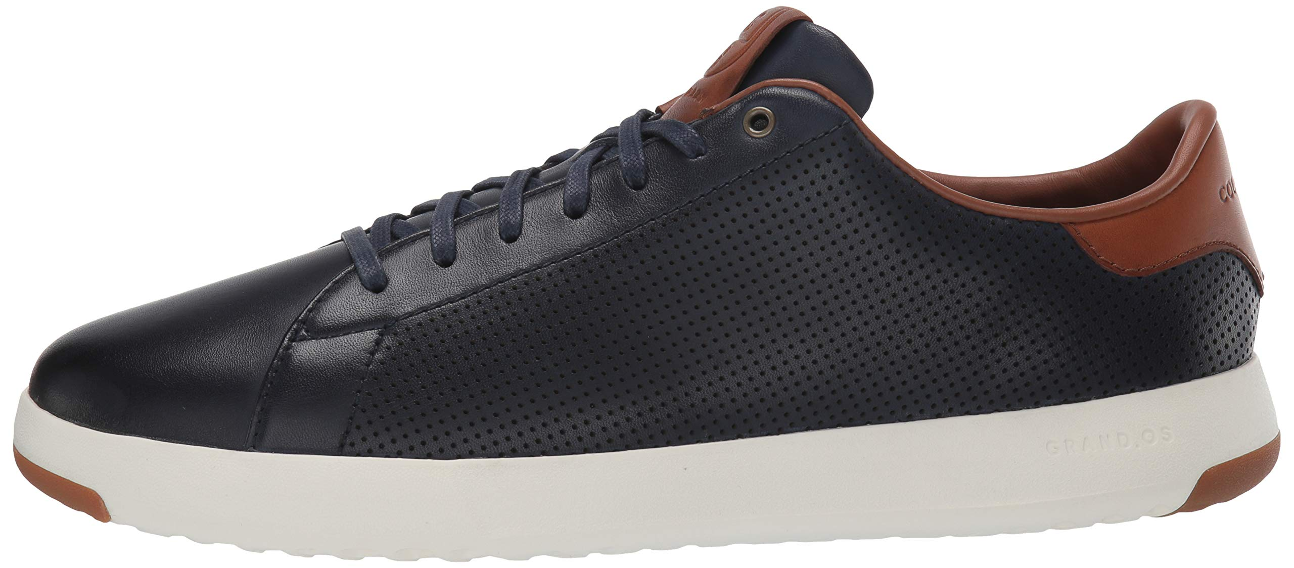 Cole Haan Mens Grandpro Tennis Sneaker 7 Navy Handstained Leather by Cole Haan (Image #5)