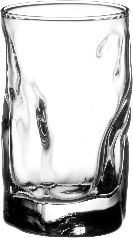 Bormioli Rocco Sorgente Shot Glasses, Set of 6, Gift Boxed