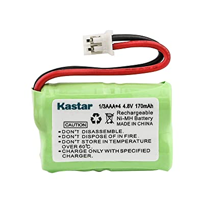 Kastar 170mAh Ni-MH Rechargeable Battery for SportDog FR200, SD-400, SD-800, SAC00-15724, PetSafe Yard and Park Remote Dog Trainer, PDT00-12470 RFA-417 PAC00-12159 FR-200P Collar Receiver plus Coaster: Health & Personal Care