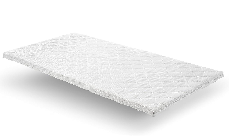 Nova Sleep Topper 160x200 cm Visco Topper H2 weich RG 50m³ mit Kernhöhe 3 cm, Gesamthöhe 4 cm, 250 gramm. Klimawatte Art. Nr. 17-V3-BPIK-160