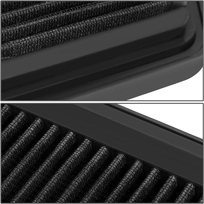 Reusable Black High Flow Drop-In Panel Air Filter For Lexus 06-13 IS250//IS350