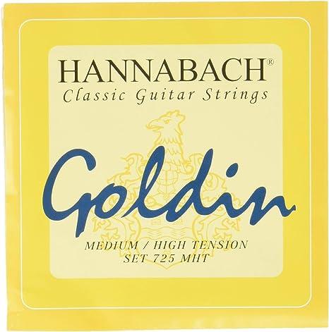 Hannabach 652727 - Cuerdas para guitarra clásica: Amazon.es ...