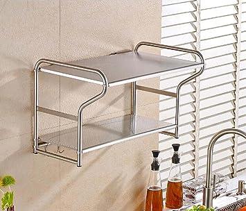 SQL Horno de pared de acero inoxidable cocina estante de la ...