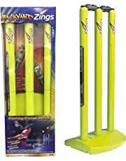 Zings Flashing Cricket Zing Stumps & Bails Backyard Cricket Big Bash