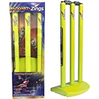 Zings Flashing Cricket Zing Stumps & Bails Backyard Cricket Big Bash