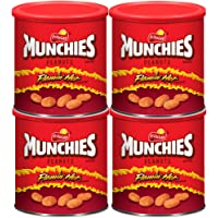 4-Count Munchies Flamin' Hot Flavored Peanuts, 16 Ounce