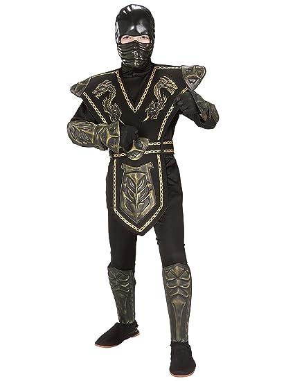 Amazon.com: Boys Dragon Ninja Warrior Costume LARGE: Clothing