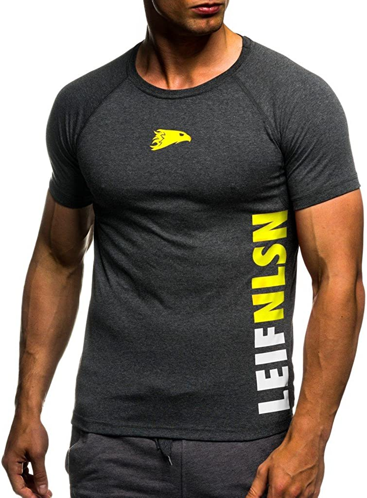 Leif Nelson Gym Men's T-Shirt Sweatshirt LN06279