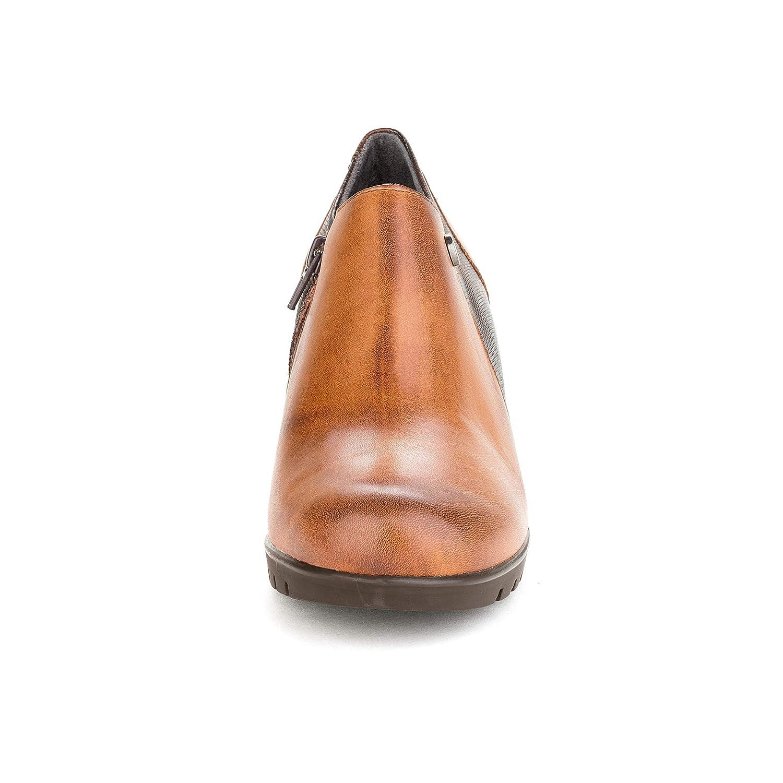 Chaussures Pitillos Femme Pour Cuir Escarpins Marron qwwR10a