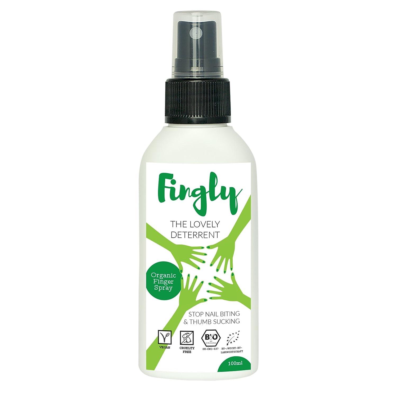 Dejar de morderse las uñas o chuparse el dedo | Spray FINGLY 100ml ...
