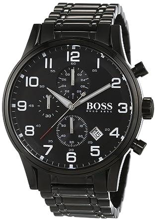 c8005ab5a Amazon.com: Hugo Boss Aeroliner Mens Watch 1513180: Watches