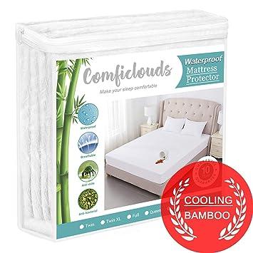 Amazon.com: Protector de colchón hipoalergénico e ...