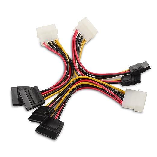 38 opinioni per Cable Matters® (3 Pack) Cavo di Alimentazione SATA 15cm