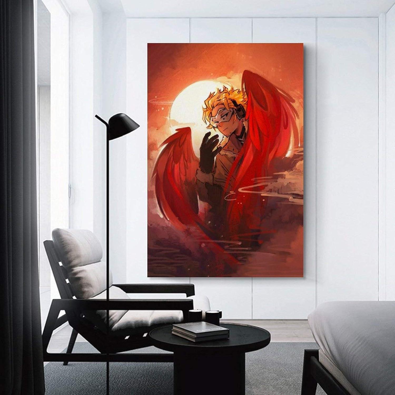 11 Impression sur toile Art Mural Art Decor Poster pour maison moderne Bureau Chambre 30 x 45 cm GANGPAO Affiche anim/ée My Hero Academia Shinsou Midoriya Izuku