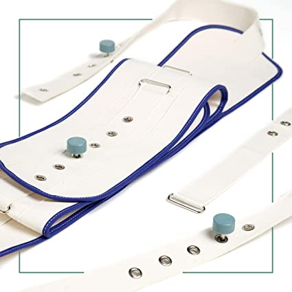 ORTONES | Cinturón Abdominal para Cama con Cierre Magnético | Arnés de protección | Talla Unica