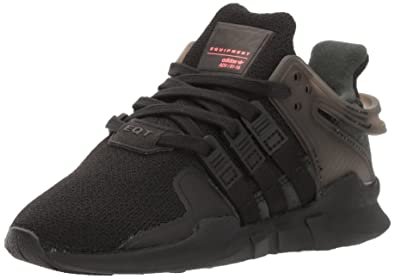 adidas Originals Boys' EQT Support ADV C Running Shoe Black, 2 M US Little Kid