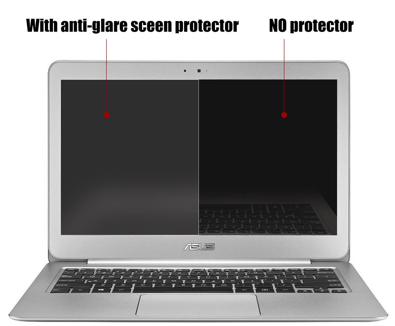 (2 unidades) de 13,3 antirreflectante anti-scratch para ordenador portátil Protector de pantalla para Asus Zenbook UX32 A ux330ca ux330ua UX305 ux305ua ...