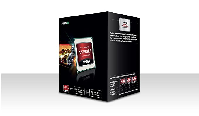 AMD A8 5600K Black Edition CPU (3 6GHZ, 4MB Cache, 4 Core, HD6570, Socket  FM2, 100W, Retail Boxed)