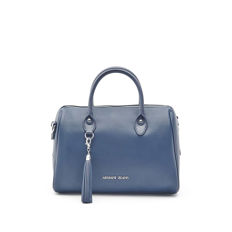 Armani Jeans sac à main femme tonneau nappina blu  Amazon.fr  Chaussures et  Sacs 3419497a9ef5