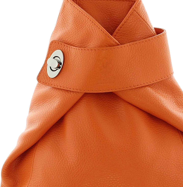 IO.IO.MIO Borsetta per le Icone/® Sac /à main port/é au dos pour femme Bleu bleu fonc/é Taille unique