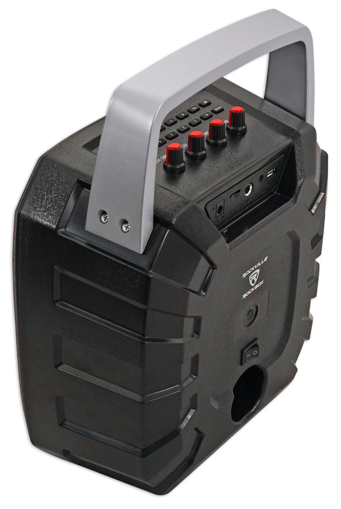 Rockville ROCKBOX 6.5'' 100 Watt Portable Rechargable Bluetooth Speaker w USB/SD by Rockville (Image #4)