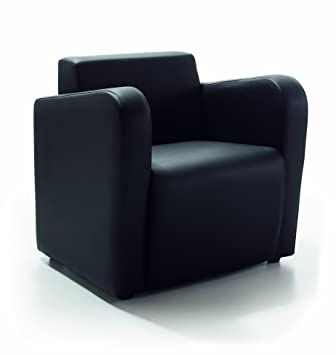 Due-home Sillon butaca fija, color negro