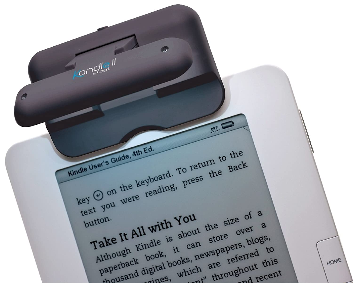 Kandle by Ozeri II Book Light LED Reading Light Designed for Books and eReaders.