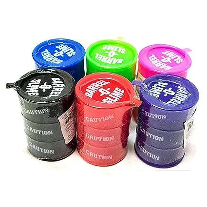 Wooden Shoppee Kids Birthday Return Gifts Barrel O Slime Pack Of 12