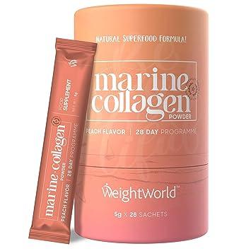 Péptidos Colágeno Marino Puro Hidrolizado 2600 mg WeightWorld ...