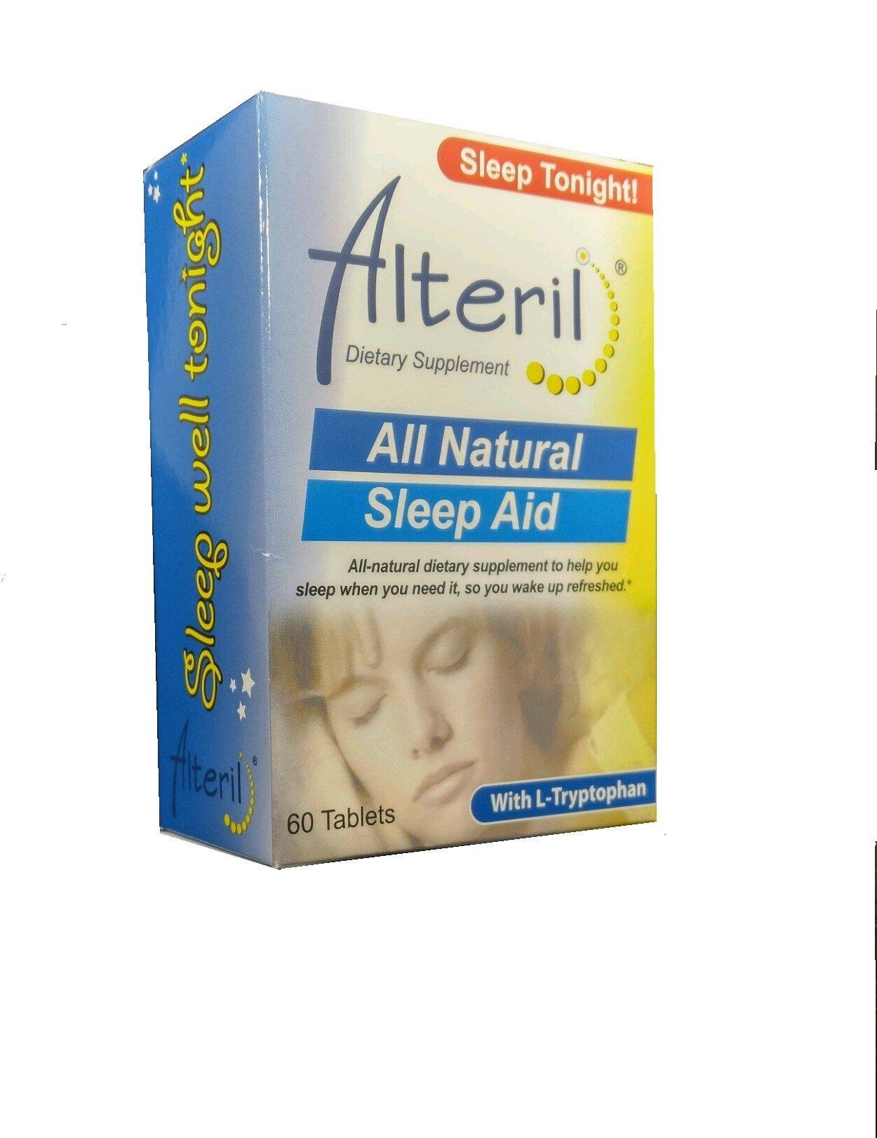 Alteril All Natural Sleep Aid 60 ea Pack of 2