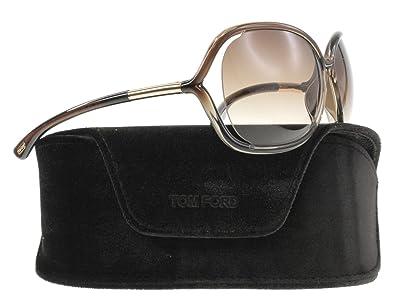 864afe4fbf Amazon.com  Tom Ford TF76 Raquel 38F Womens Transparent Bronze 63 mm  Sunglasses - transparent bronze  Tom Ford  Shoes