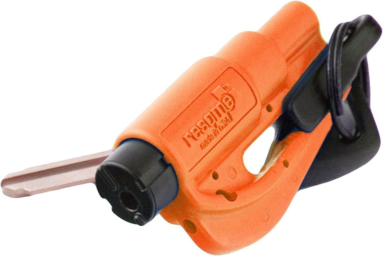 RESQ ME 98730 colore: Arancione 2 in 1 Strumento di sicurezza con portachiavi
