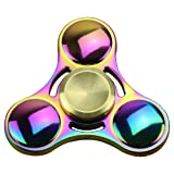 Amazon Price History for:[Figit] Metal 4 Mins Hand Spinner Fidget Toy Stress Reducer and Perfect For ADD, ADHD ,Finger Toy fidget work Ultra Fast Bearings(Multicolor) by KOMIWOO