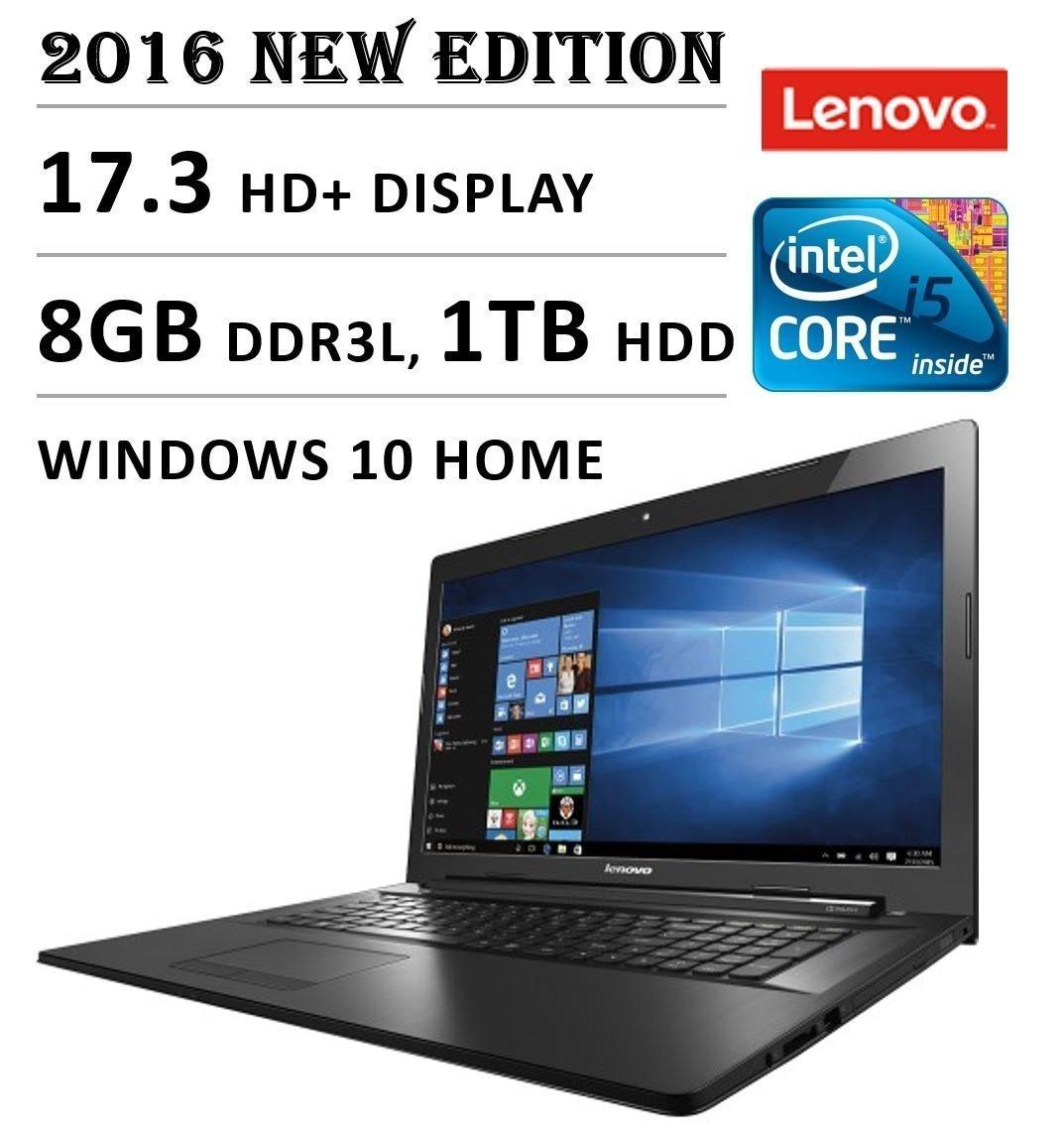 Lenovo G70 80 173 Laptop Core I5 5200u 3m Cache Up Lcd Led 140 Inc Ideapad G40 30 70 To 22 Ghz 8gb Ram 1tb Hdd Windows 10 Black Computers Accessories