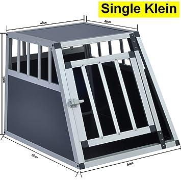 Delman Alu Hundetransportbox stabile Ellipsenrohren als Gitter ...