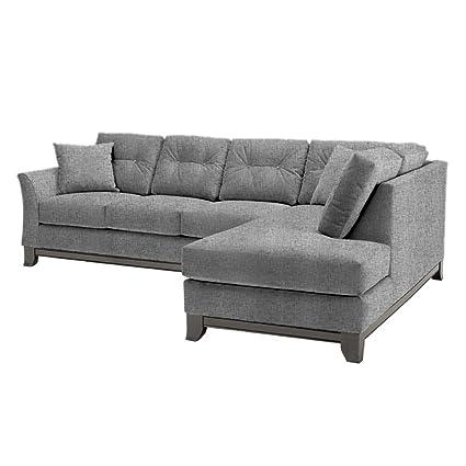 Miraculous Amazon Com Marco 2 Piece Sectional Sofa Smoke Raf Creativecarmelina Interior Chair Design Creativecarmelinacom