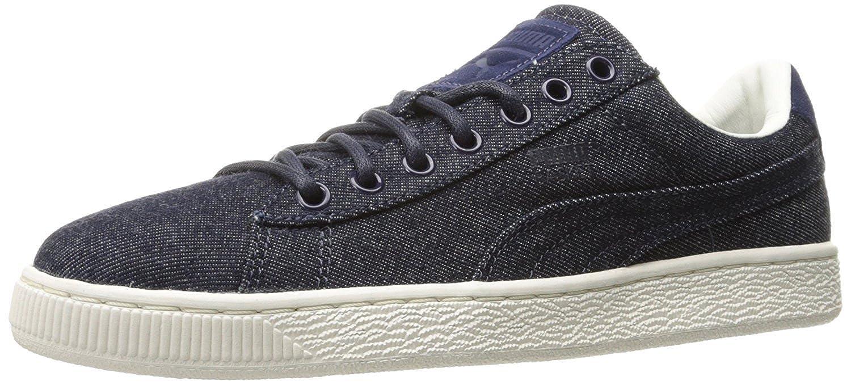 af6faf11ab582 PUMA Basket Classic Denim Fashion Sneaker, Twilight Blue-Whisper, 10 M -  UK/44.5 M - EU: Amazon.co.uk: Shoes & Bags