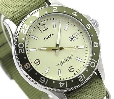 TIMEX NACIDO ESTILO MILITAR DESERT ARENA RELOJ PARA HOMBRE ADULTO CON ABRAZADERA 42 MM: Amazon.es: Relojes