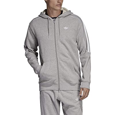 adidas Essentials 3-Stripes Fleece Hoodie Men's: Sports & Outdoors